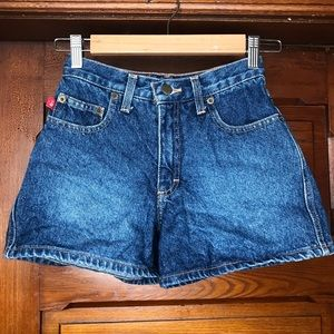 MUDD Vintage 90s High Waisted Jean Shorts